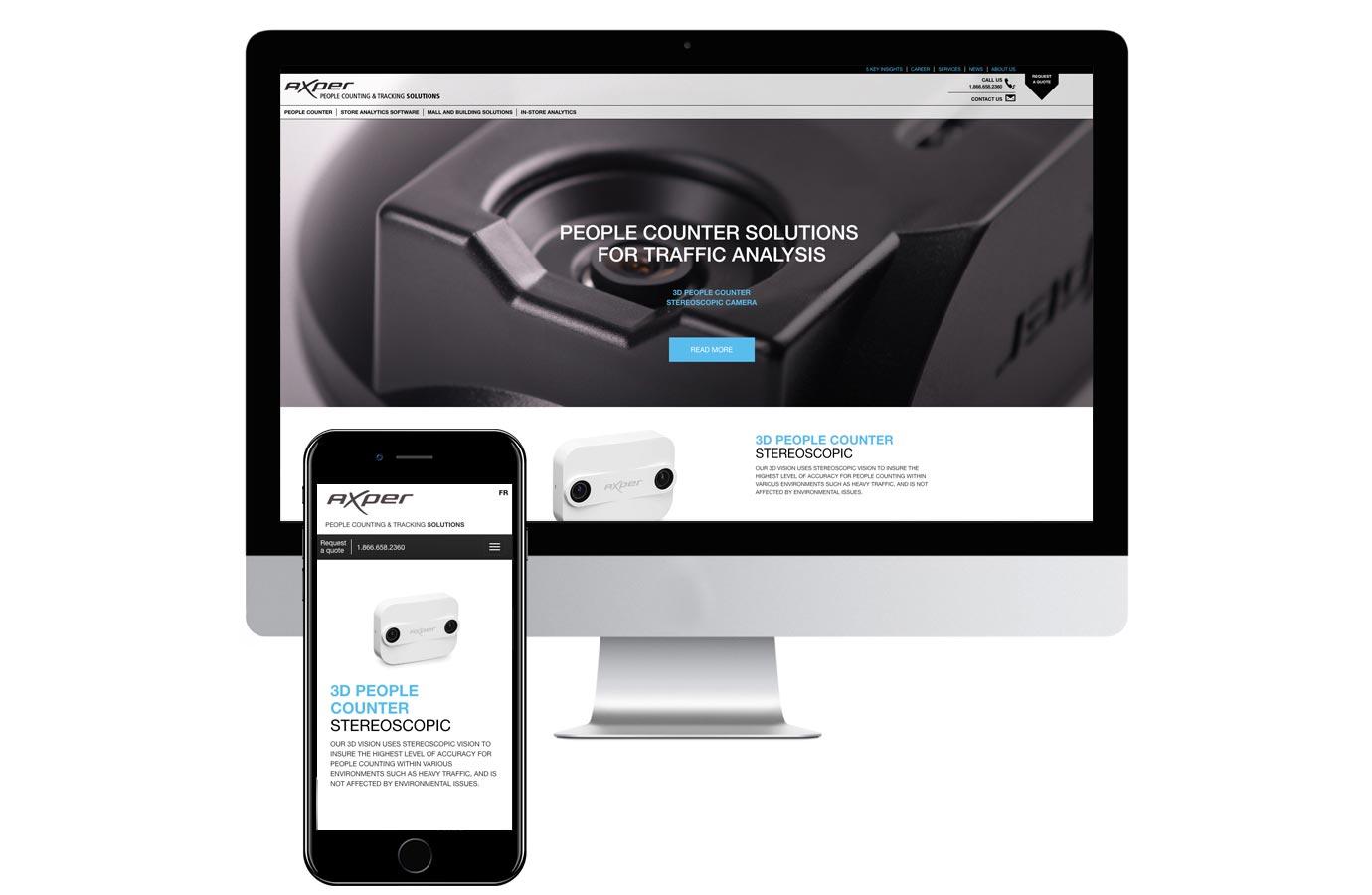 Site web de Axper