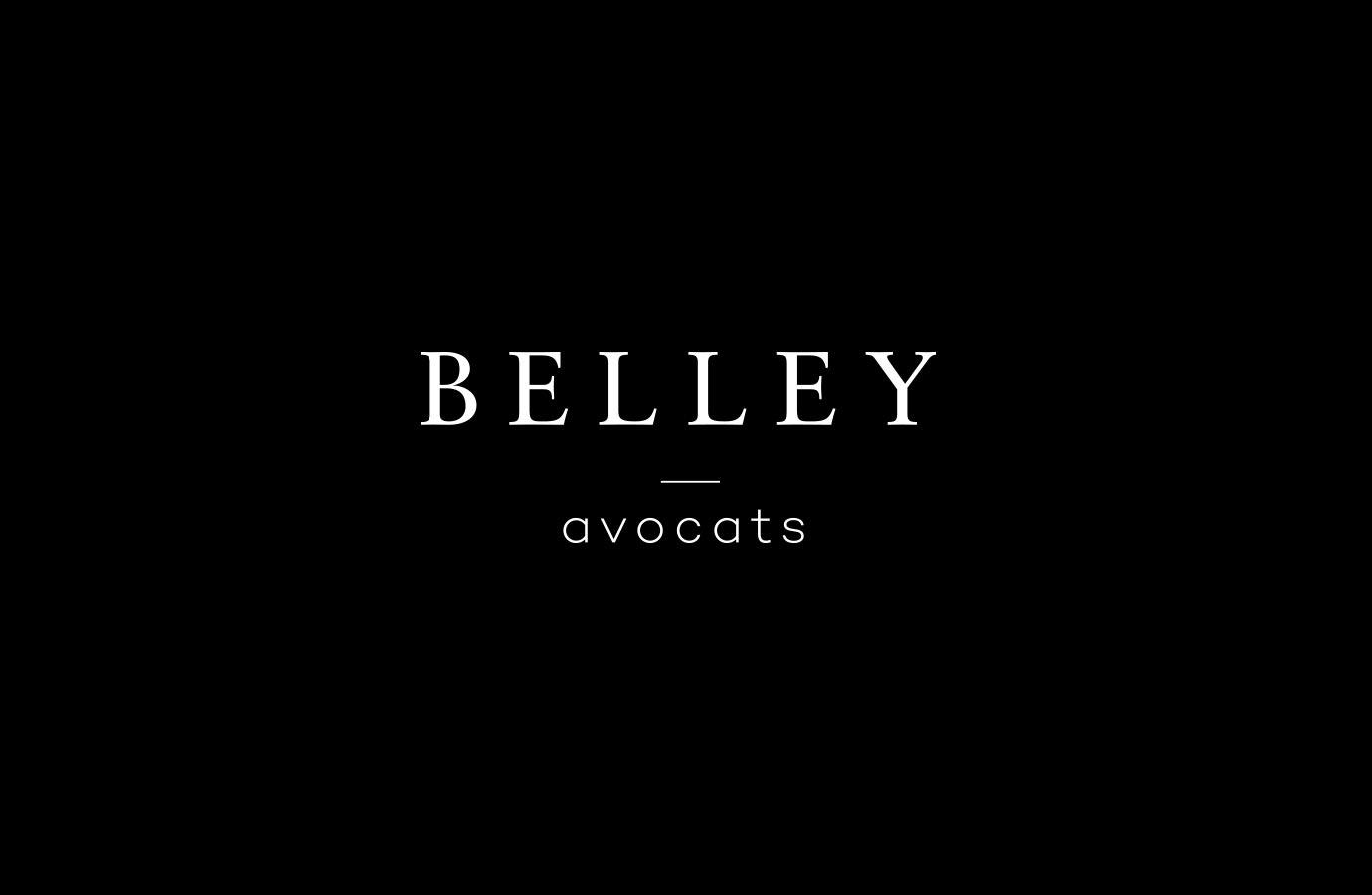 Identité, logo de Belley Avocats