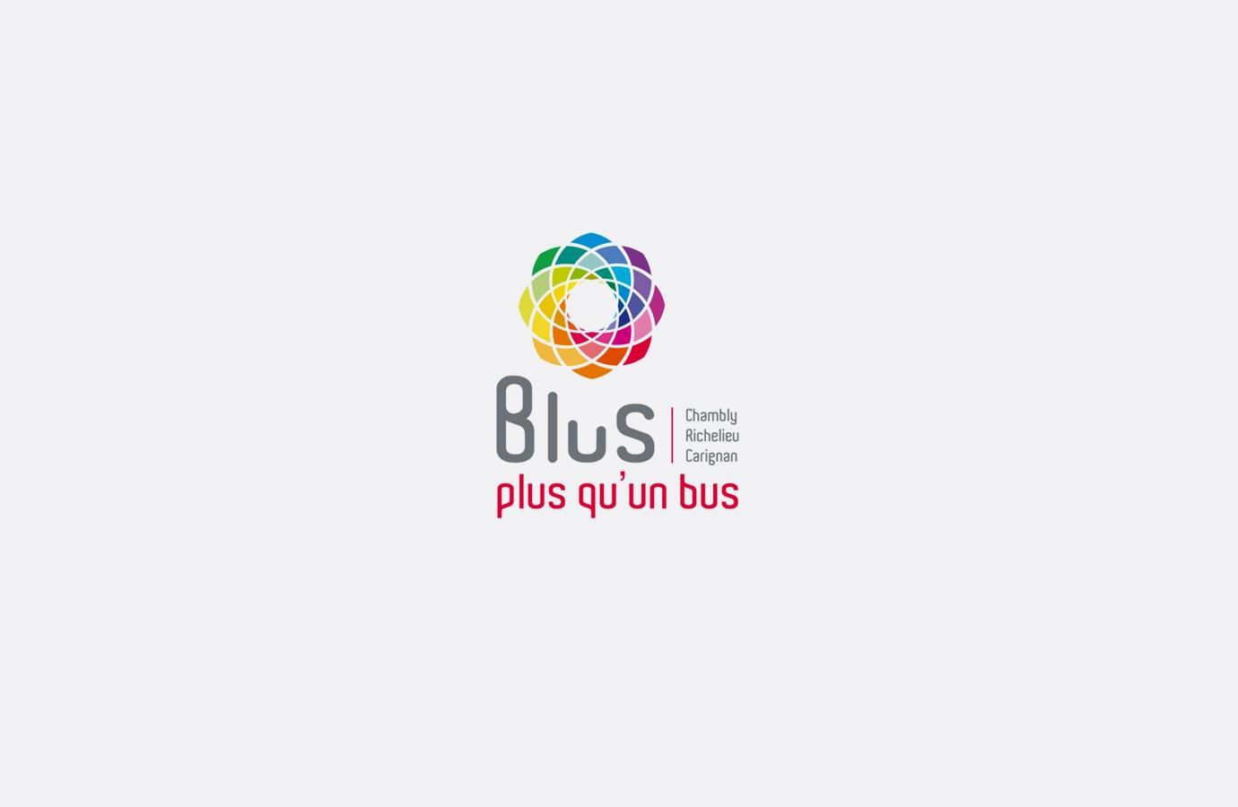 Identité service de transport Blus