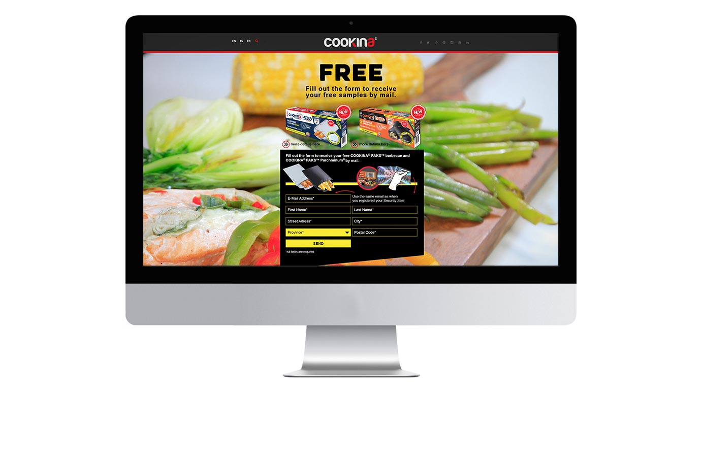 Marketing digital pour Cookina