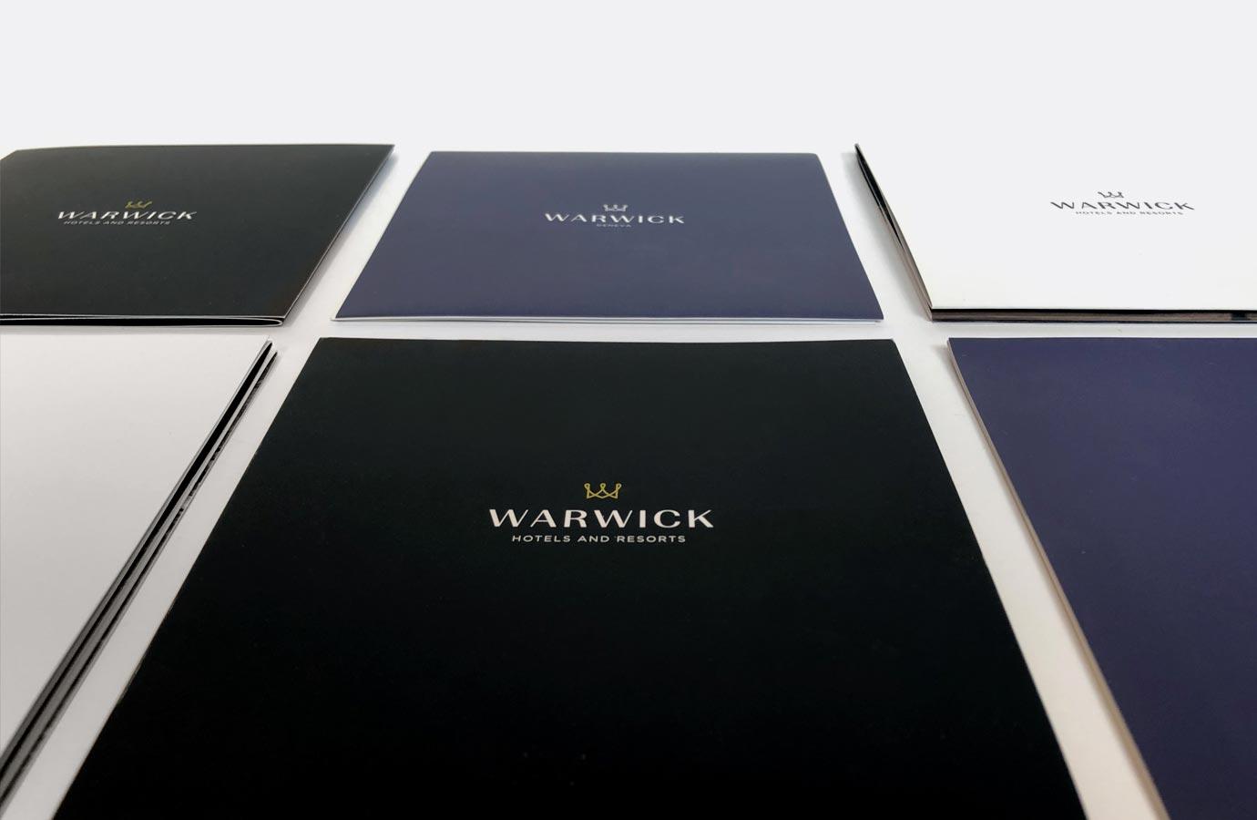 Déclinaison de marque des hôtels Warwick