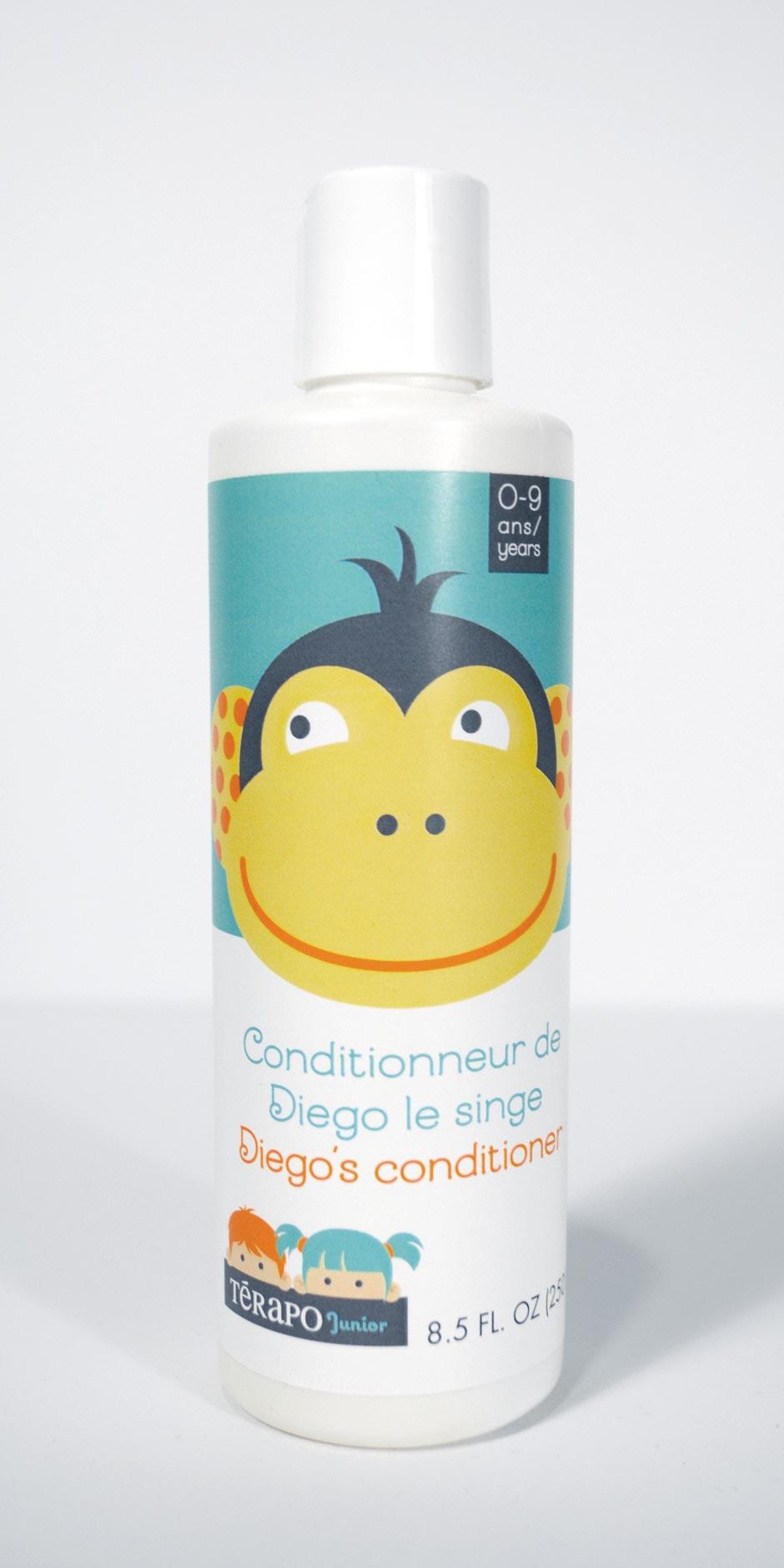 Conditionneur de Diego le singe, Térapo Junior 0-9 ans, Laboratoire Nature