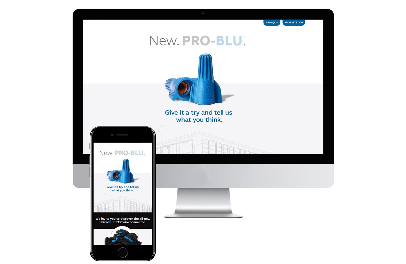 Marketing digital pour produit Pro-Blu de ABB